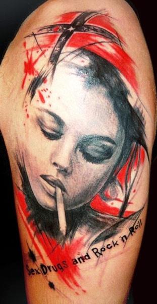 20c3e2363039cd968cc561ccbb40ad69 - Trash Polka Tattoo Art