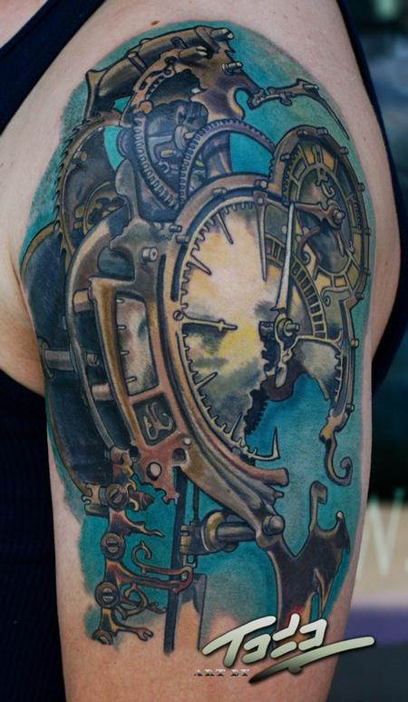 Freitas-Steampunk-clock-by-Todo-ABT-Tattoo