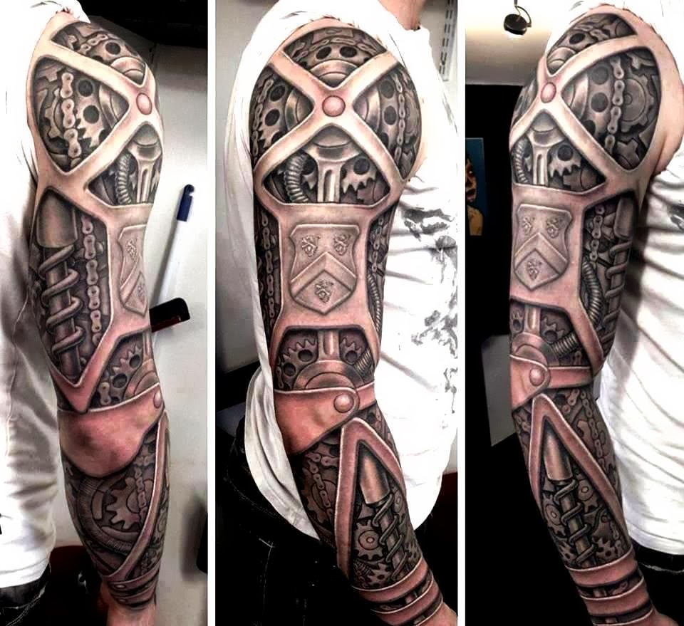 Steampunk Tattoo by Rob Richardson